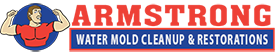 Armstrong Water Mold Cleanup & Restorations Logo